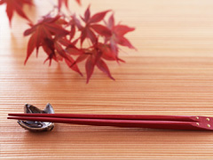 箸の使い方の画像